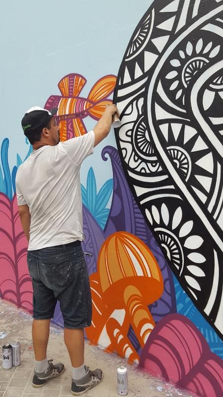 Oficina: Graffiti, interação com a cidade