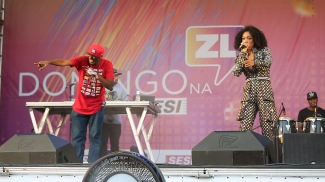 Domingo na ZL - Rappin Hood e Negra Li