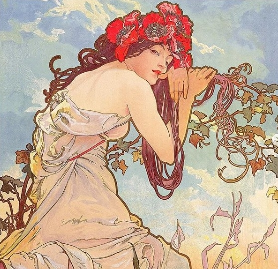 Exposição Alphonse Mucha: o legado da Art Nouveau