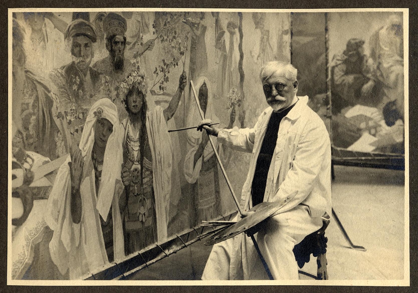 Visita guiada com as curadoras à exposição Alphonse Mucha: o legado da Art Nouveau